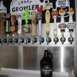 Growler Station offers twelve beers to go | Photo by HughE Dillon