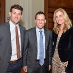 Zack Seward, editor-in-chief at Technical.ly, Peter Thiel, and Karin Copelan, executive director of the Arts & Business Council of Philadelphia.