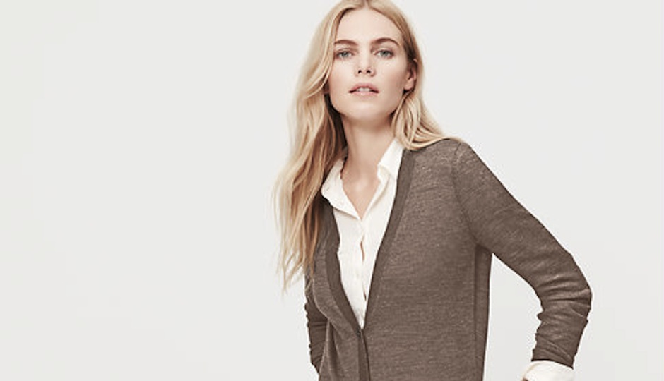 The Relaxed Cardigan from Ann Taylor LOFT