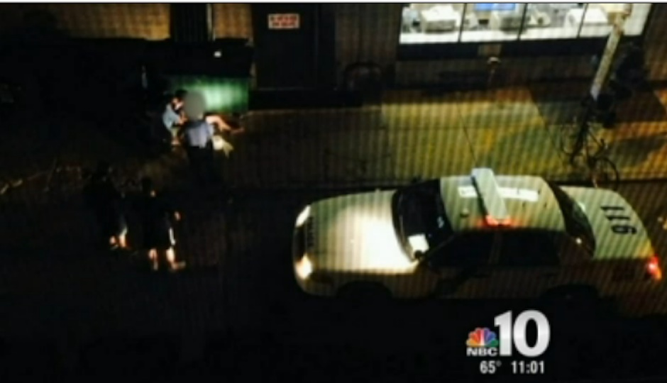 A video from NBC10 shows footage of the attack on Thursday evening.