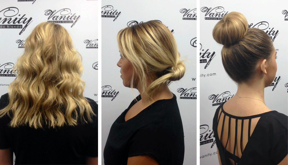 We're loving these easy hairstyles to try out this fall | Images via Salon Vanity