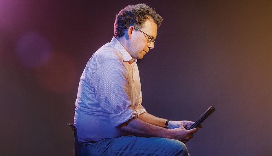 Jim Brady is launching a mobile-focused local news site. Photograph by Jauhien Sasnou