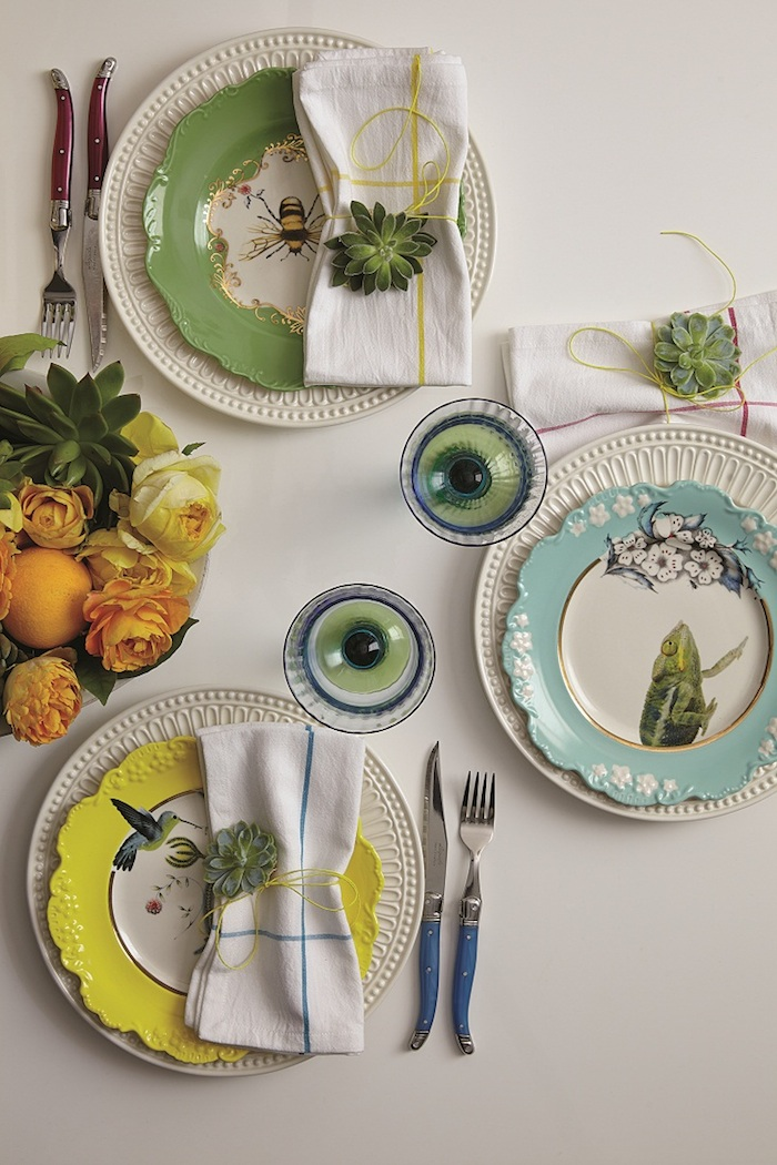 Some of the delightful items you can add to your brand new registry. Photo courtesy Anthropologie.