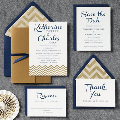 Paper Source is a go-to for pretty custom invitation suites.