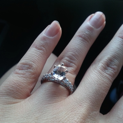 Angela's ring!