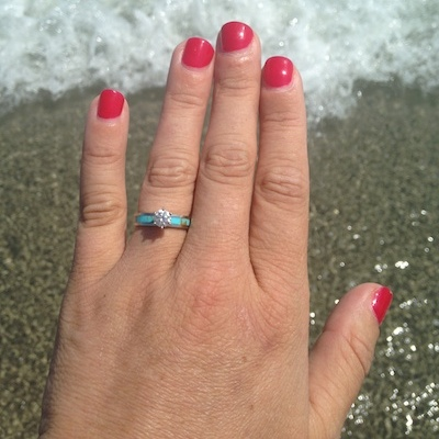 Tricia's ring!