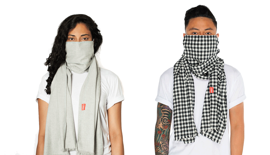 Sickness-repelling scarves for everyone! | Image via Jasper Scough