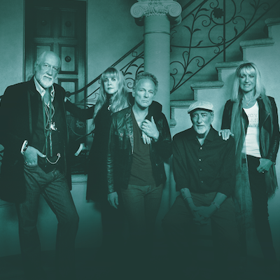 Fleetwood Mac performs at Wells Fargo Center on October 15th and 29th.