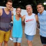 Kolby Kent Wilson, Sean Farrell, Robbie Sambuca, and Justin Torres
