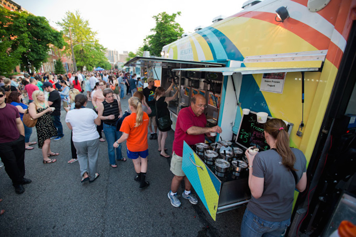 Manayunk's favorite foodie fest returns for a fall edition this weekend. StrEAT Festival brings over 40 Philly food trucks to Main street, serving up everything from BBQ to cupcakes, with an emphasis on a special seasonal ingredient: apples! Manayunk merchants will offer sidewalk sales and promotions, plus fresh fruits, veggies, and homemade spices, oils, and jams will be available to purchase from the farm stand and gourmet vendors. Kids will be entertained at Recess, a littles-only zone held at Canal View Park, complete with everything from a moon bounce to face painting. Plus, a pop-up beer garden will be the highlight of Cotton Street, offering samples of craft brews to compliment the food truck fare. Come hungry. Sunday, September 28th, 11 a.m.-5 p.m., Main Street, Manayunk.