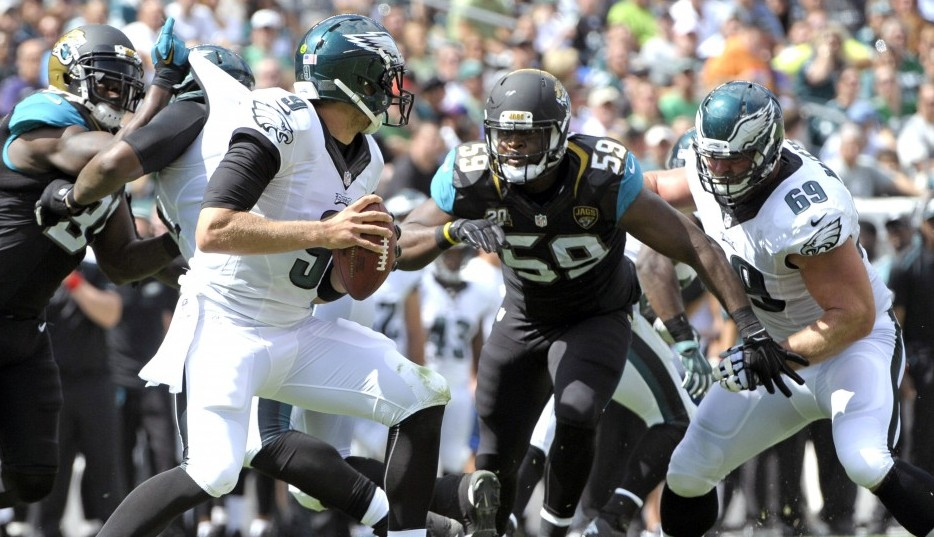 NFL: Jacksonville Jaguars at Philadelphia Eagles