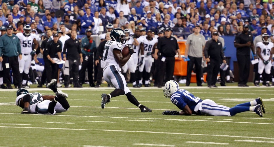 NFL: Philadelphia Eagles at Indianapolis Colts