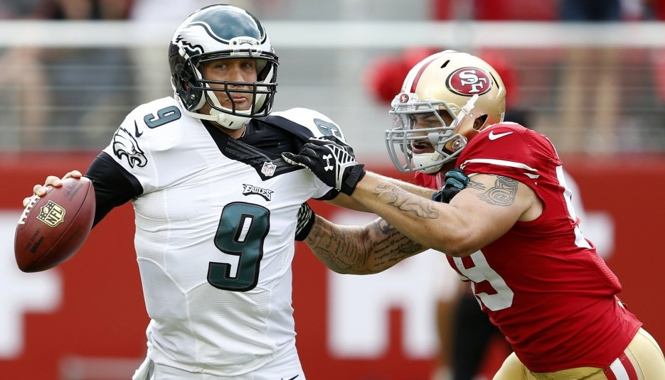 NFL: Philadelphia Eagles at San Francisco 49ers