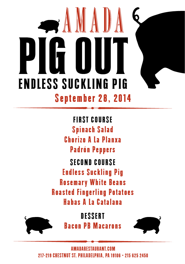 amada pig out menu