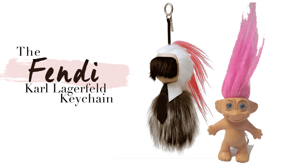 956da92416 Back in July, word started to spread about the elusive Karl Lagerfeld Fendi  keychain. Ringing in at $1,750, it was über-exclusive, could only be scored  at ...