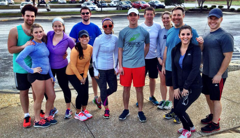 Lululemon's Run Club in Valley Forge