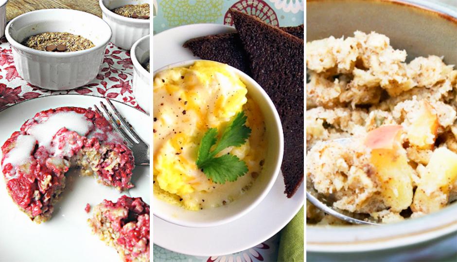 A Week S Worth Of Healthy Microwaveable Breakfast In A Mug