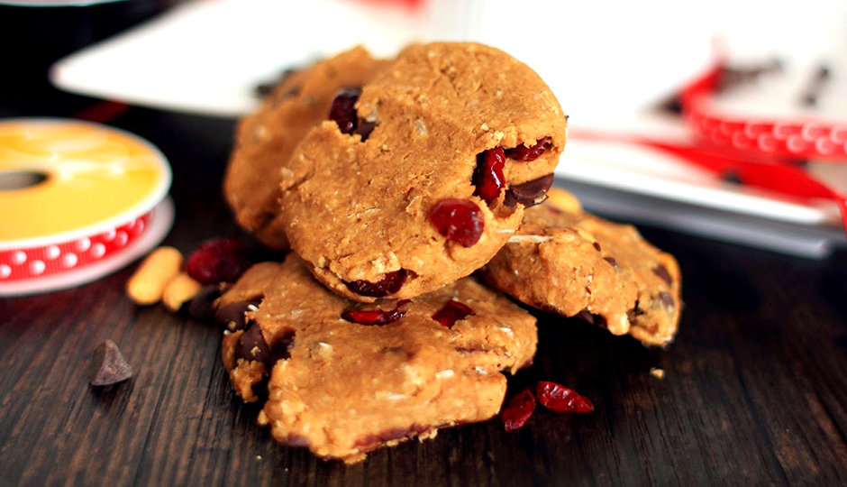 Protein Breakfast Cookies via Feeding My Addiction