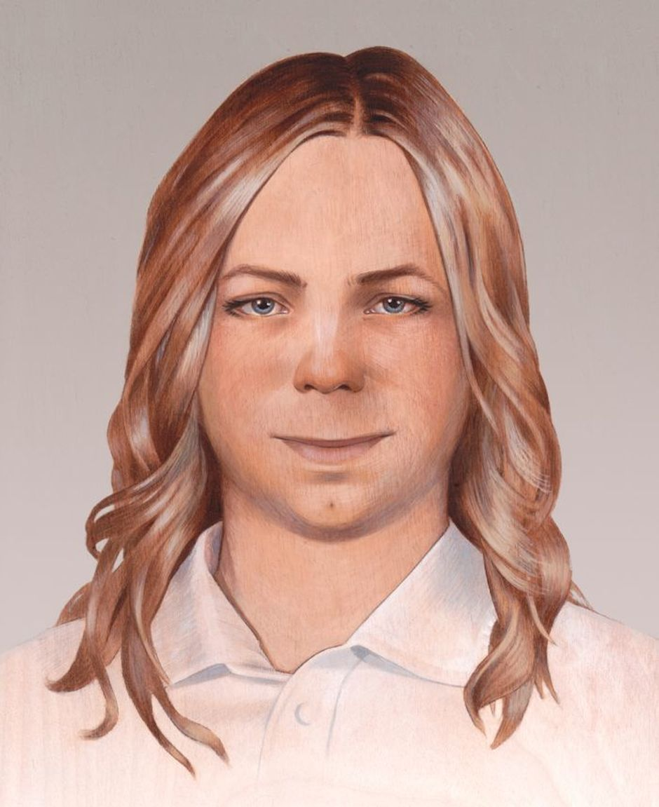 Chelsea Manning portrait by Alicia Neal