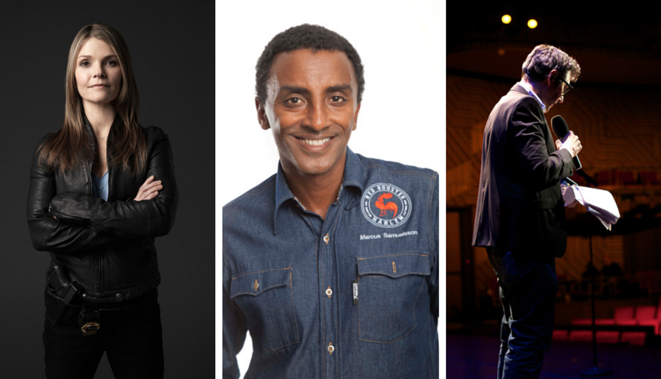 Kathryn Erbe, Marcus Samuelsson, and Ira Glass will appear at the First Person Arts Festival.