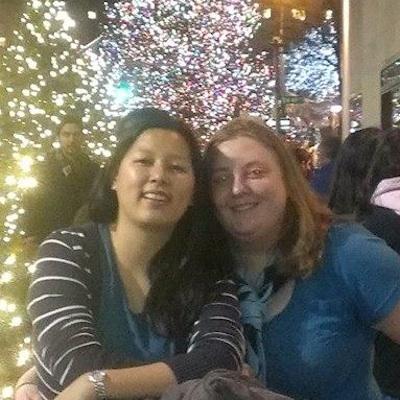 Lianne and Carmina.