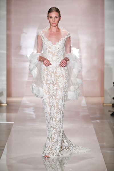 Loo k4 by Reem Acra. Photo courtesy of the designer.