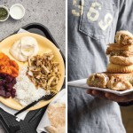 Shawarma platter at Hummus; Pastries from Manakeesh | Photos by Neal Santos