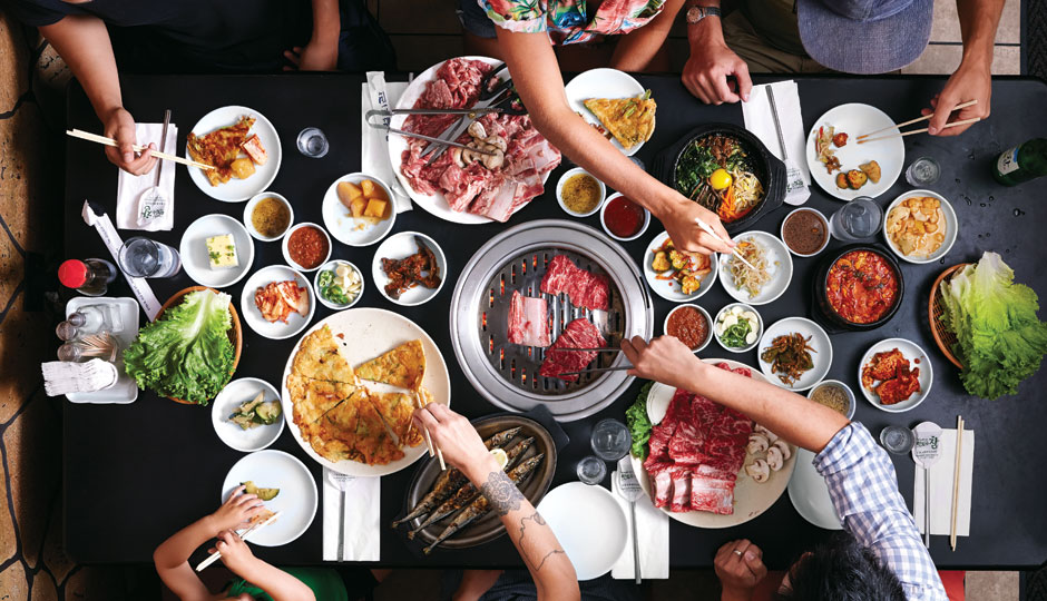 A Korean BBQ feast at Seorabol | Photo by Michael Persico