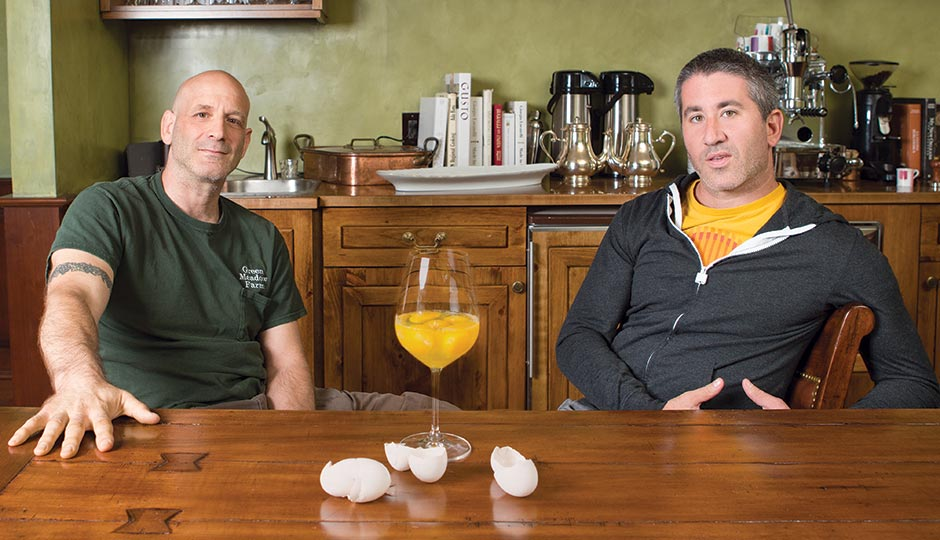 Marc Vetri and Michael Solomonov. Photograph by Dustin Fenstermacher