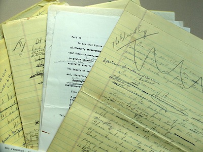 The papers of Toni Morrison   Don Skemer, Department of Rare Books and Special Collections
