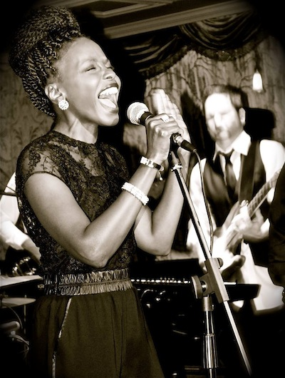 Thena Gordon is just one of the talented singers at American Deluxe.
