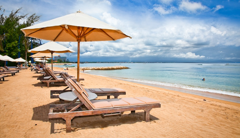 How about a honeymoon spent on the beach in Bali?