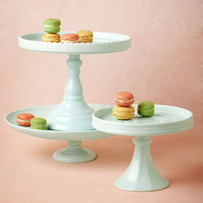 Sweetest Day Cake stands, marked down and adorable at BHLDN.com.