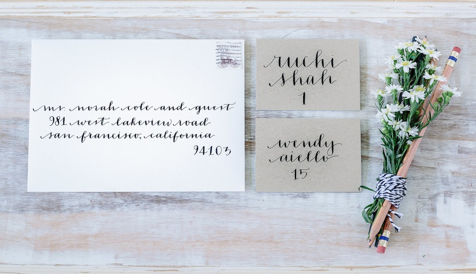 Local Wedding Invitations: Local Bridal Guide: 5 Philly-Area Calligraphers Who Can
