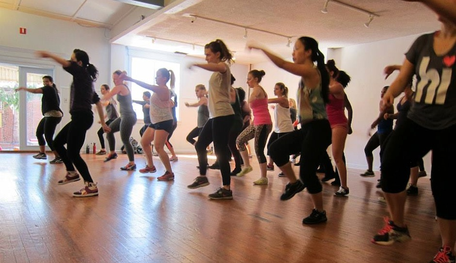 Philly Dance Fitness Class // Photo via Facebook