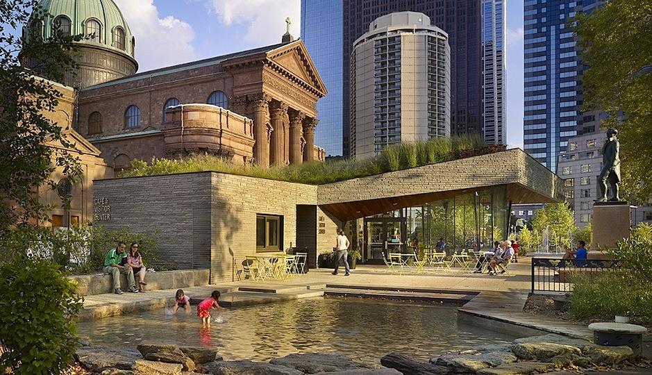 Sister Cities Park by Digsau, AIA Philadelphia's 2010 and 2013 Honor Award winner. Photograph by Halkin Mason Photography via DesignPhiladelphia.org