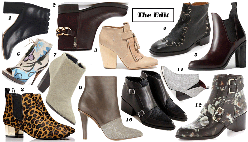 ac1926015cee The Edit  12 Sexy (And Comfy!) Pairs of Ankle Boots