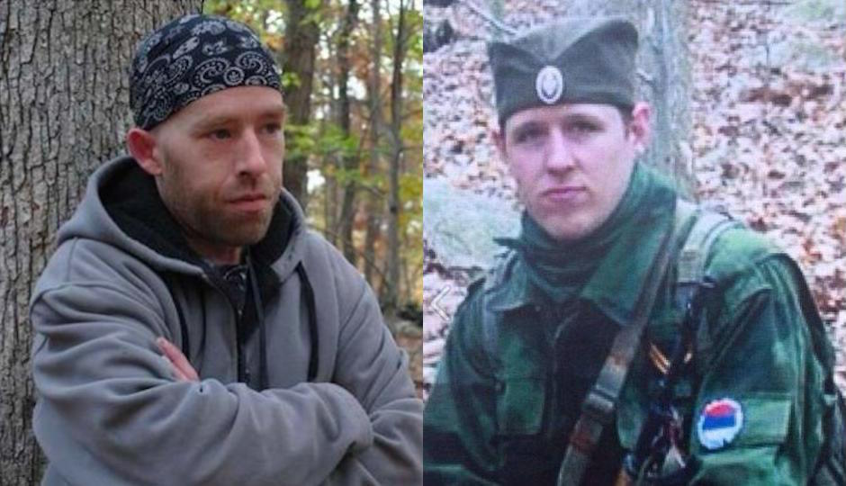 James Tully, left. Eric Frein on the right.