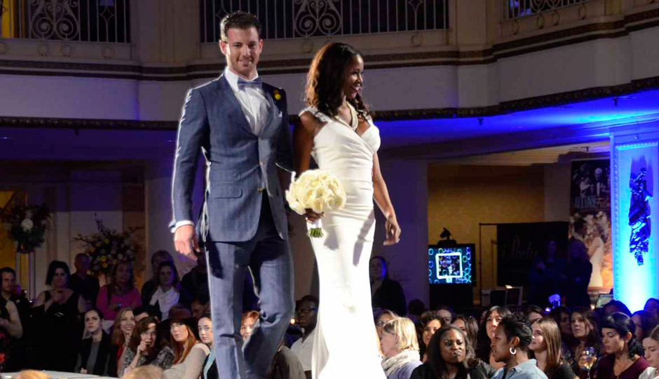 Scenes from the runway show from the 2014 Bellevue Gets Engaged.