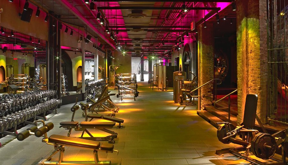 David Barton Gym at Astor Place in New York