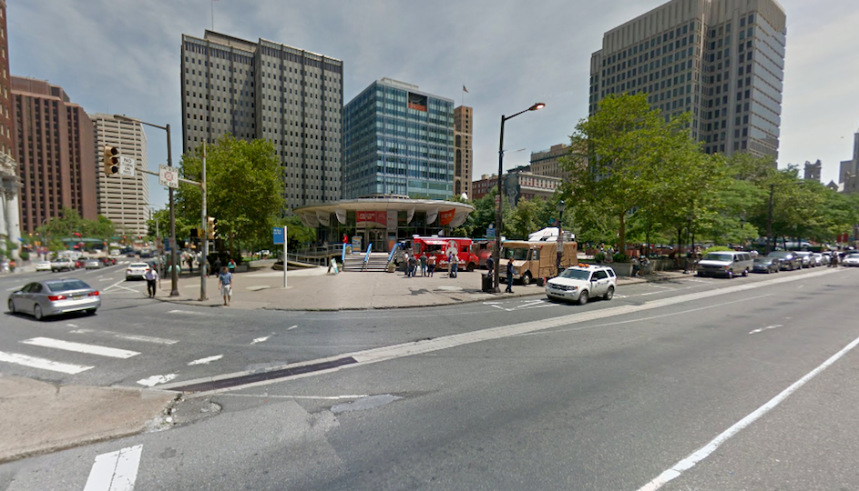 A Google Street View photo taken in June of this year shows the building in context.