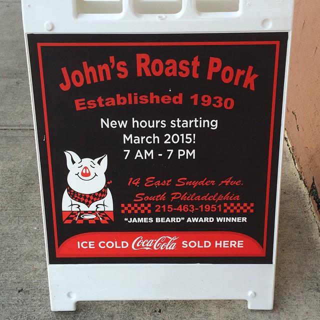 johns roast pork hours