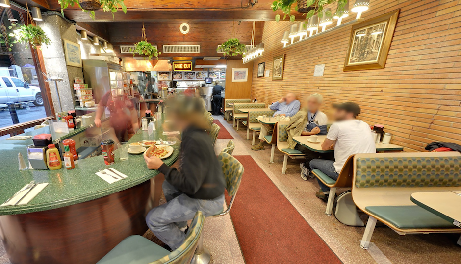 Little Pete's interior view via Google Street View