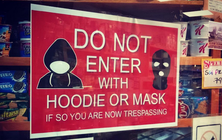 no-hoodies-signs-new-york-philadelphia