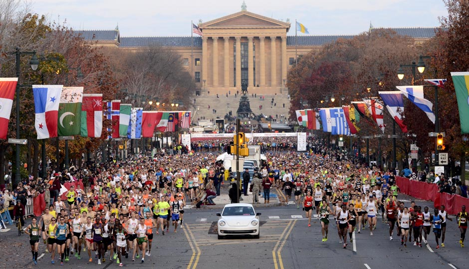 Philadelphia Marathon | Photo by Jim McWilliams