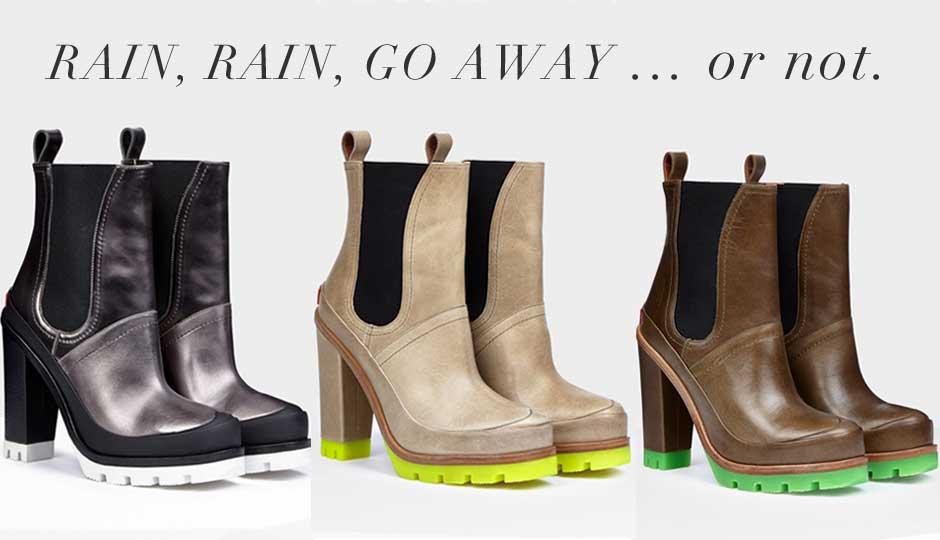 Hellozebra Women Rain Boots Waterproof Fashion Ankle 17