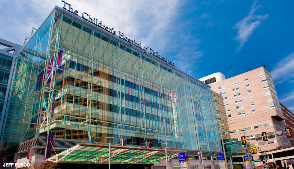The Children's Hospital of Philadelphia.