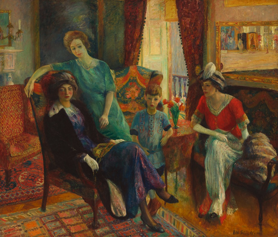 """Family Group"" by William Glackens."