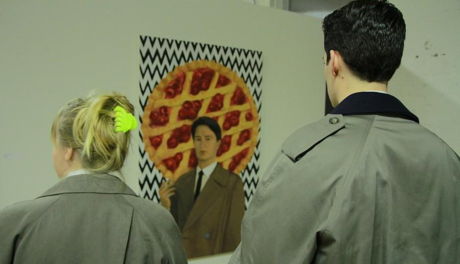 Special Agent Dale Cooper gazes at his portrait. |Photo via Christian Sarkis Graham