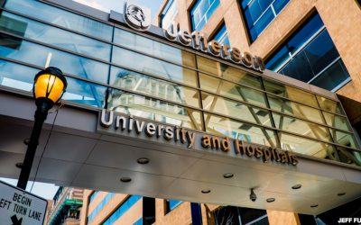 Jefferson University sign